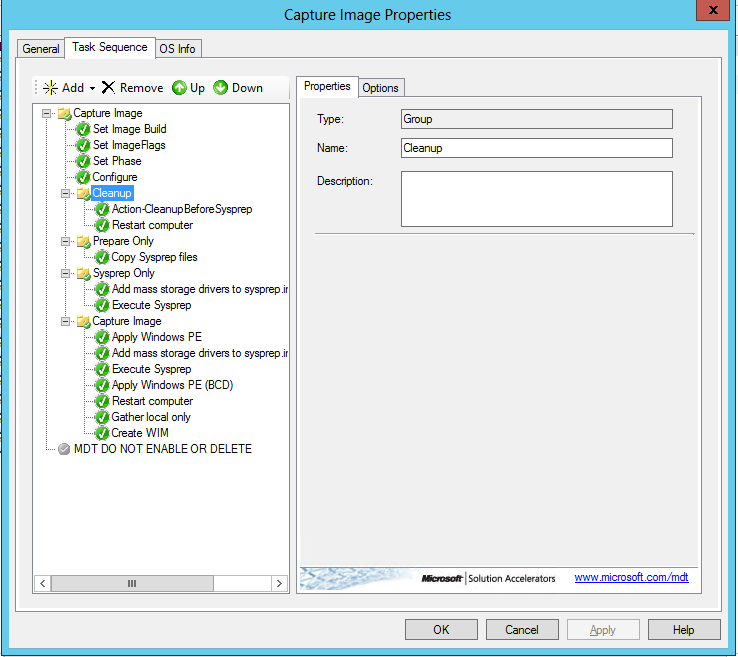 Cleaning the Windows Image before Sysprep during an SCCM B&C Task Sequence